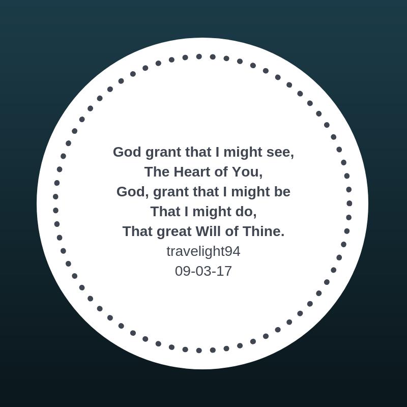 God Grant